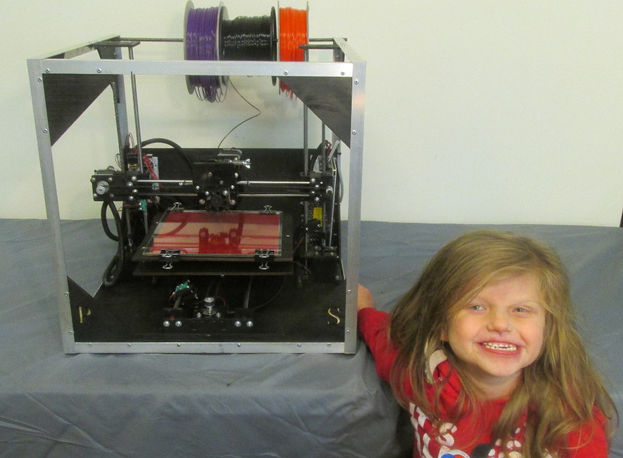 taylor and asterid 3D printer