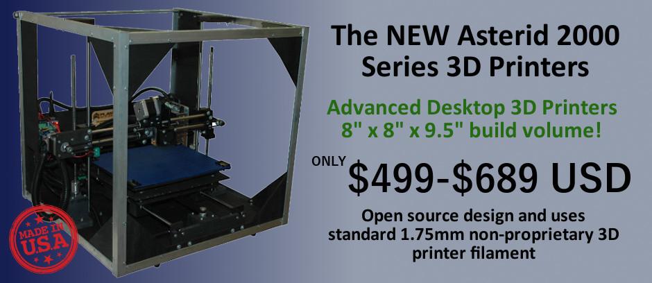 Asterid Open Source 3D Printer