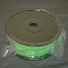 Green ABS plastic filament 1.75mm 2.2lbs
