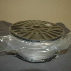 Clear ABS plastic filament 1.75mm 2.2lbs (1KG)